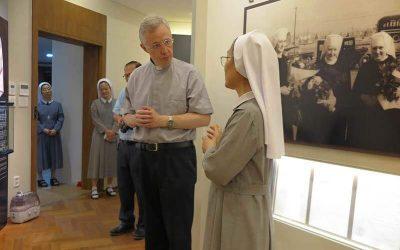 2019.07.12._전교회 총장 토마스 마브릭 신부님께서 본원을 방문한 모습입니다.