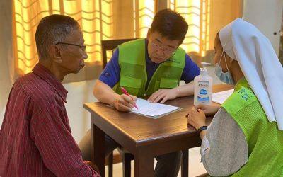 20191011_방글라데시의 이동진료와 빈센트 대축일 행사모습입니다