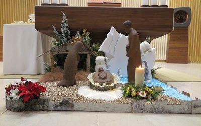2019.12.25_성탄 대축일 모습입니다. 예수회 조현철 신부님 집전으로 봉헌되었습니다.